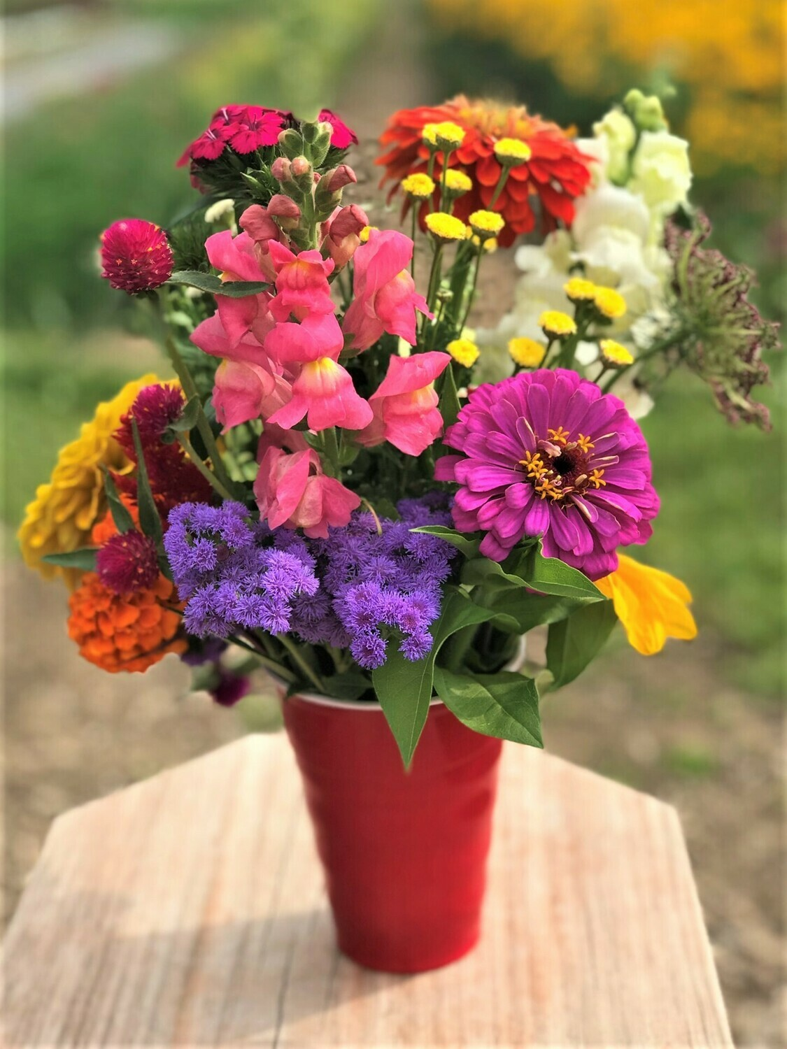 Pick-Your-Own Flower Bouquet (cup)