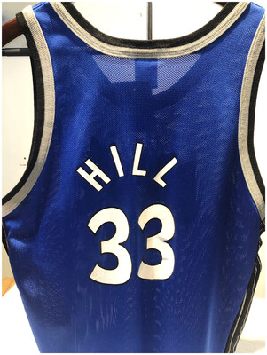 Vintage NBA ORLANDO Magic No 33 Hill Jersey
