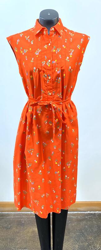 Vintage 1970's Malia Belted Dress