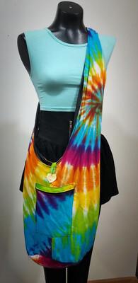 Boho Tie-dyed Crossbody Bag