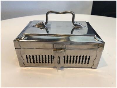 Vintage Padmini Steel Spice & Dip Snack Box