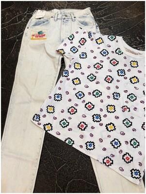 Vintage Unisex Venezia Colorful Shirt