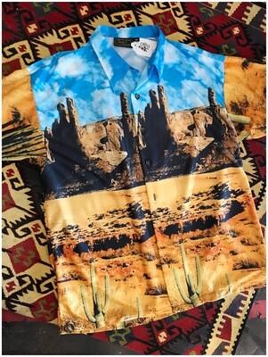 Vintage 1970's Monzini Dead Stock Shirt