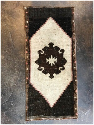 Vintage Turkish Handmade Rug