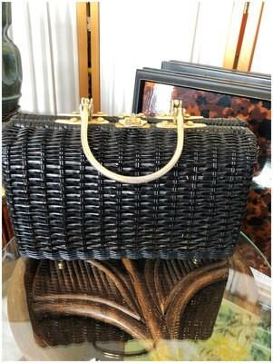 Vintage Basket Handbag