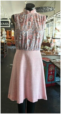 Vintage 2 Piece Dress with Jacket & Belt
