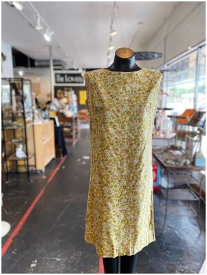 Vintage Sleeveless Garden Day Dress