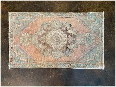 Vintage Handmade Turkish Rug, 19' x 33'