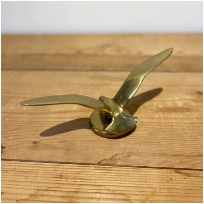 Mid Century Brass Seagull