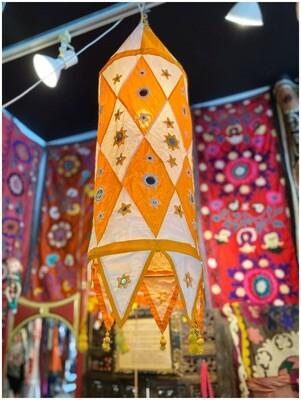 Boho Hanging Lamp