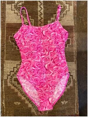 Vintage Rose Bathing Suit, Deadstock