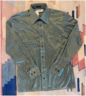 Vintage 1970's Men's Oleg Cassini Deadstock Shirt