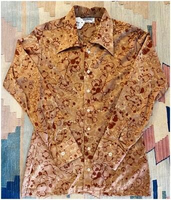 Men's Vintage 1970's Oleg Cassini Dead Stock Shirt