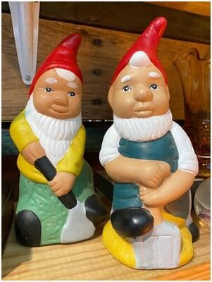 Vintage Garden Gnomes