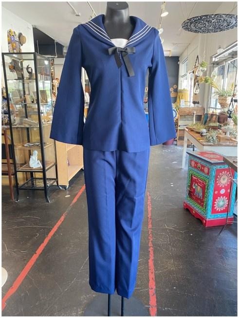 Vintage 1950's Handmade Sailor Suit