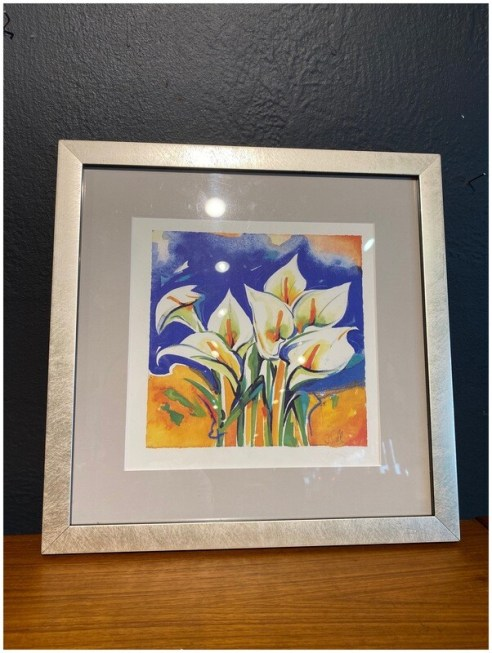 Framed Cal Lilly Art