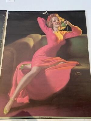 1950's Advertisement Poster