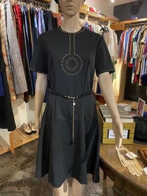 Vintage 1970's Lee Morton of Chicago Embellished Dress