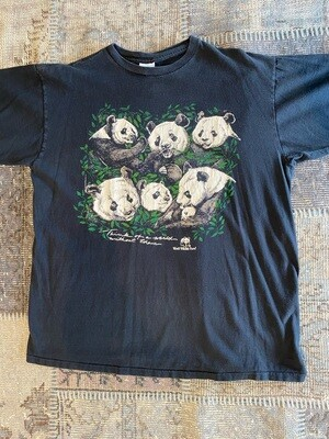 Vintage Panda World Wildlife Fund T-Shirt