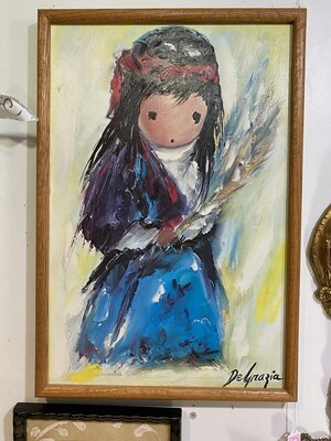 DeGrazia Art, Indian Child