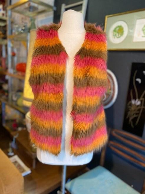 Modern Faux Fur Vest