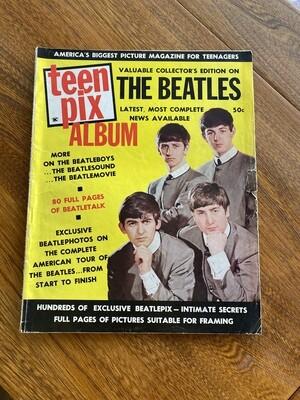 Vintage 1964 Teen Pix Album The Beatles