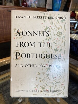 Vintage 1954 Elizabeth Barrett Browning, Sonnets from the Portuguese and Other Love Poems
