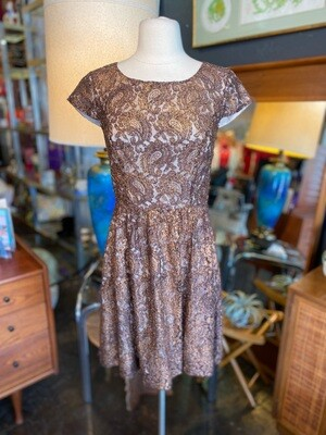 Modern Kenzie Lace Bronze Dress