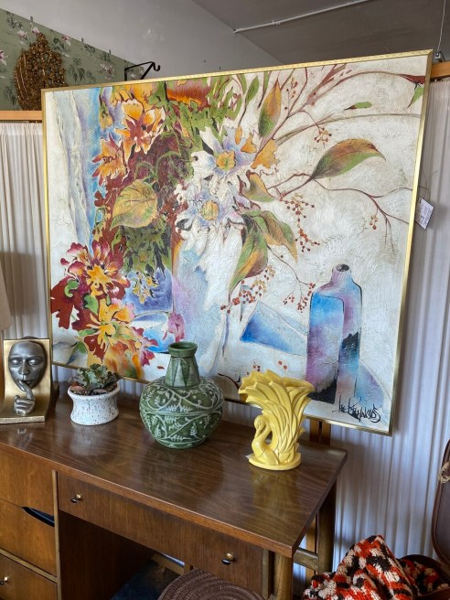 Mid Century Modern Lee Reynolds Painting