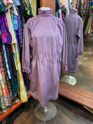 Vintage 80's Felt Dress