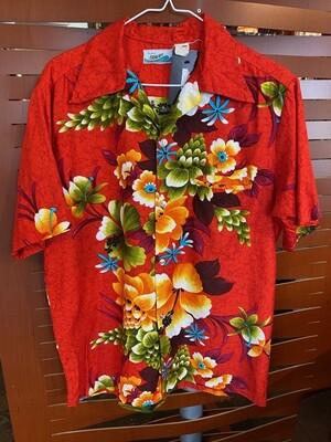 Vintage Men's Pennys Hawaii Tiki Shirt
