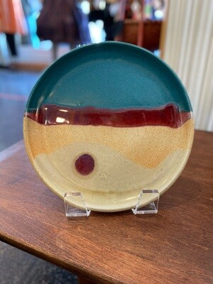 Walt Glass Pottery Studio Plate Set