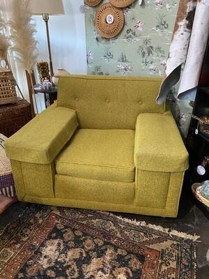 Mid Century Modern Tweed Armchair