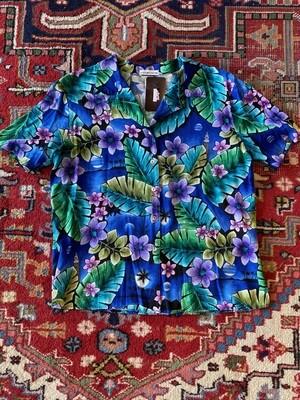 Vintage Men's Tropical Shirt