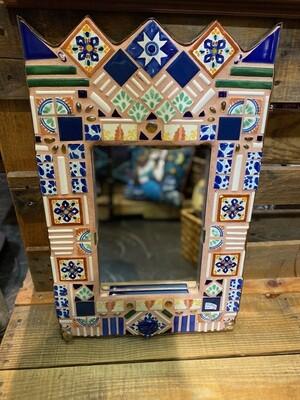 Vintage Mosaic Tile Mirror