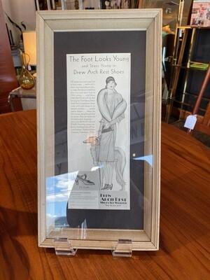Vintage 1929 Art Deco Fashion Ad