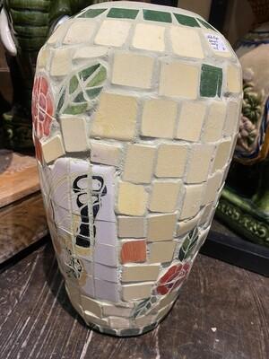Vintage Mosaic Tile Planter
