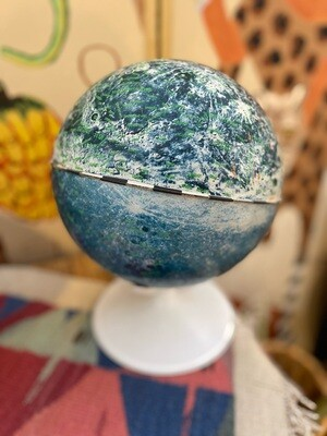 Vintage 1969 Lunar Moon Globe