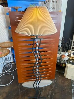 Post Modern Wavy Iron Floor Lamp