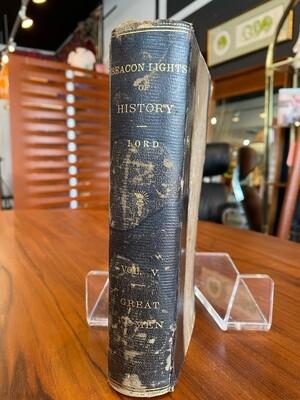 Antique 1885 Beacon Lights of History Vol V. Great Women