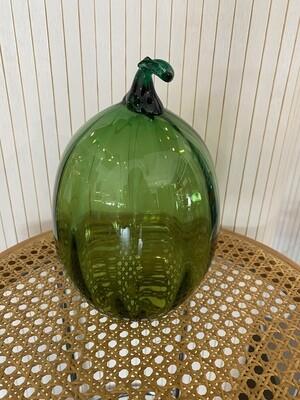 Mid Century Modern Blenko Harvest Olive Gourd