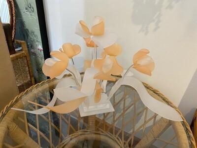 Vintage Lucite Flower Sculpture