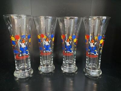 Vintage Spuds Mackenzie Glass Set