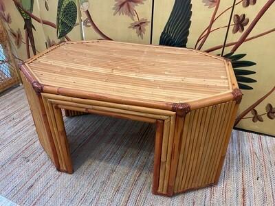 Mid Century Modern Bamboo Table