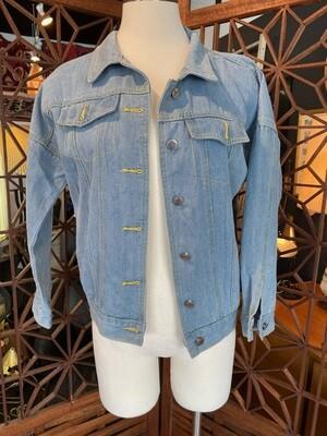 Modern Girl Power Denim Jacket