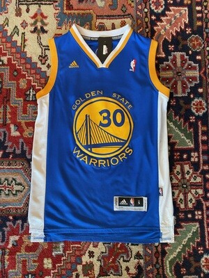 Vintage NBA Golden State Warriors #30 Curry Jersey
