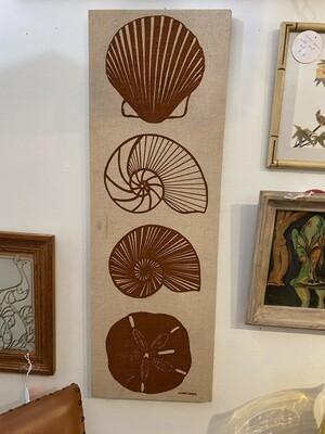 Vintage Marushka Shells Tapestry