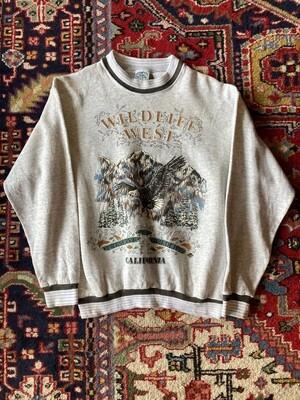 Vintage Wildlife West California Sweatshirt