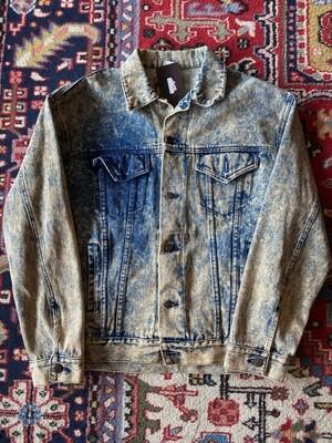 Vintage Acid Wash Denim Jacket