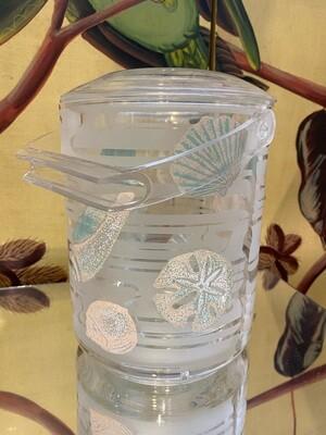 Vintage Culver Shell Motif Ice Bucket